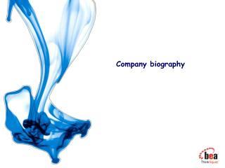 Company biography