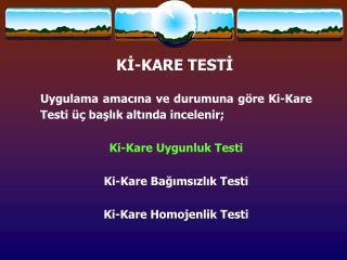 KI-KARE TESTI