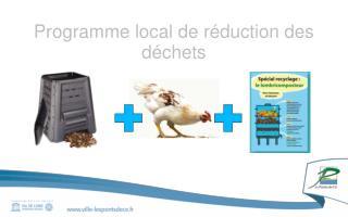 Programme local de r�duction des d�chets