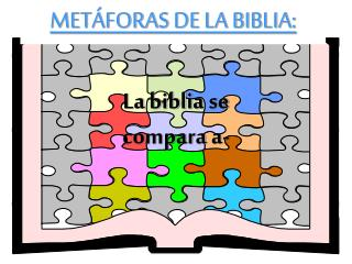 METÁFORAS DE LA BIBLIA: