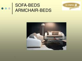 SOFA-BEDS ARMCHAIR-BEDS
