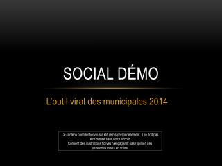 Social démo