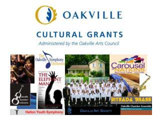 Cultural Grants - History