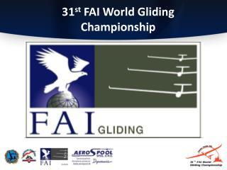31 st  FAI World Gliding Championship