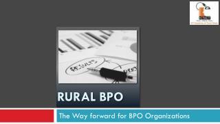 Rural BPO
