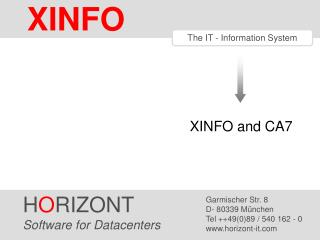 The IT - Information System
