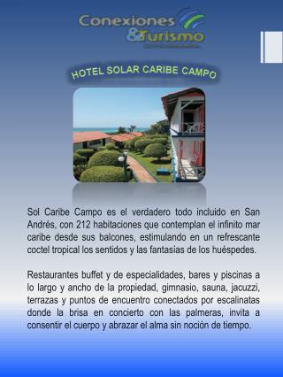 Hotel solar caribe campo