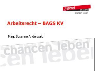 Arbeitsrecht   BAGS KV