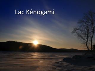 Lac Kénogami