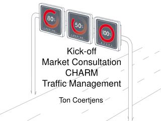 Kick-off  Market Consultation  CHARM  Traffic Management