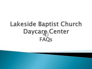 Lakeside Baptist Church Daycare Center