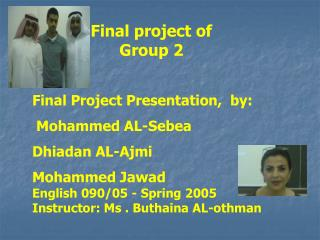 Final project of Group 2
