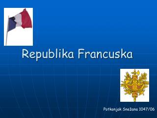 Republika Francuska