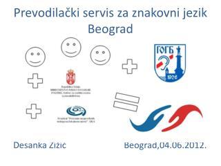 Prevodilački servis za znakovni jezik Beograd