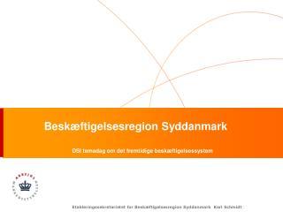 Beskæftigelsesregion Syddanmark