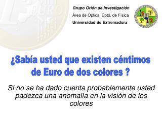 Si no se ha dado cuenta probablemente usted padezca una anomalía en la visión de los colores