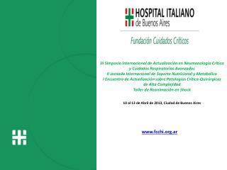 III Simposio Internacional de Actualización en Neumonología Crítica