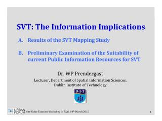 SVT: The Information Implications