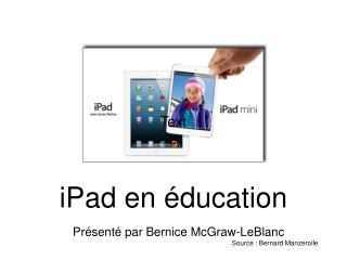 iPad en éducation