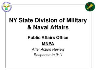NY State Division of Military & Naval Affairs