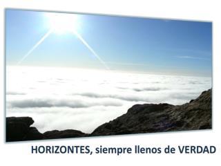 Que el cielo y la tierra sean una misma cosa