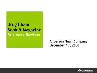 Drug Chain Book & Magazine Business Review