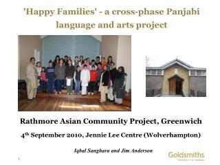 'Happy Families' - a cross-phase Panjabi language and arts project