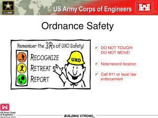 Ordnance Safety