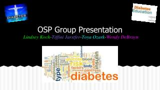 OSP Group Presentation