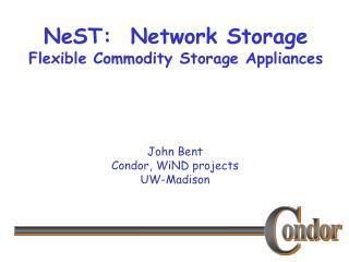 NeST:  Network Storage Flexible Commodity Storage Appliances