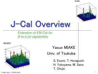 J-Cal Overview