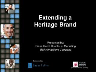 Extending a  Heritage Brand