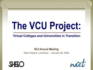 The VCU Project: