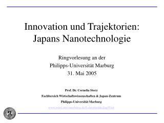 Innovation und Trajektorien: Japans Nanotechnologie