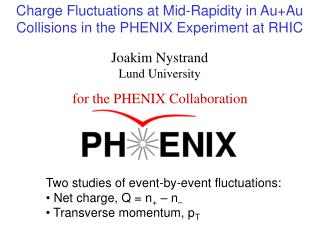 Charge Fluctuations at Mid-Rapidity in Au+Au Collisions in the PHENIX Experiment at RHIC