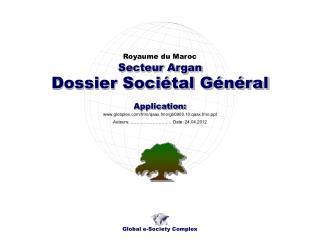 Dossier Sociétal Général