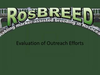 Enabling marker-assisted breeding in Rosaceae