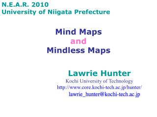 Mind Maps and Mindless Maps
