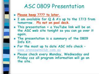 ASC 0809 Presentation