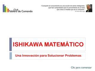 ISHIKAWA MATEMÁTICO