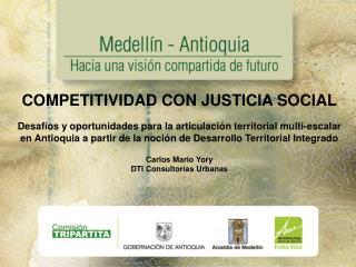 COMPETITIVIDAD CON JUSTICIA SOCIAL