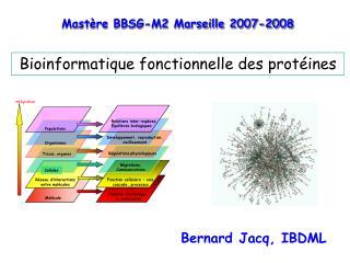 Bioinformatique fonctionnelle des protéines