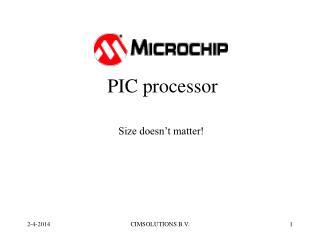 PIC processor