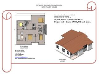 VIVIENDA UNIFAMILIAR  PB-AISLADA MAIN FAMILY HOUSE