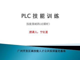 PLC  技 能 训 练