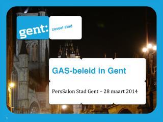 GAS-beleid in Gent
