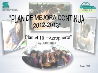 "Plantel 10  ""Aeropuerto"""