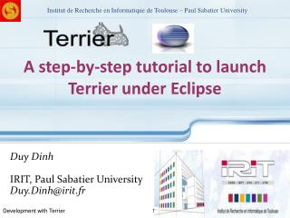 A step-by-step tutorial to launch Terrier under Eclipse