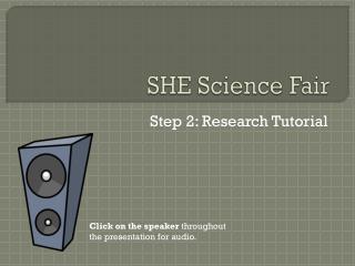 SHE Science Fair
