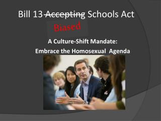 Bill 13 Accepting Schools Act